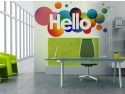 print autocolant. Sticker decorativ office