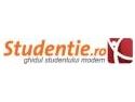 Noi oportunitati pentru studenti - Studentie.ro se relanseaza
