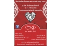 day of wrath. 3 Zile de petreceri Valentines Day la Restaurant Taj!