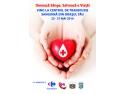 """anunturi umanitare. Carrefour România se alătură campaniei umanitare """"Donează Sânge! Salvează o viaţă!"""", pentru că sângele unui donator poate salva până la alte 3 vieţi"""