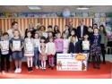 Podiumul Castigatorilor de la Concursul de Desene Carrefour, editia de Pasti