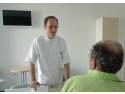 chirurgie endoscopica. Conf. Dr. Eugen Dumitru, șeful Departamentului de Gastroenterologie  de la Ovidius Clinical Hospital.