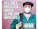 protectie. Masti de protectie impotriva particulelor - DFND