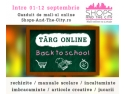 Super Calatorul. banner targ online Back to School