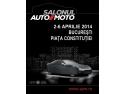 moto. Distracţie şi adrenalină la Salonul Auto Moto 2014