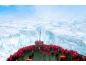 """expeditie. """"50 Years of Victory"""" este cel mai puternic spărgător de gheaţă din lume."""