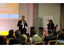 eveniment de recurtare. Roland Teufel, Partener Ensight Management Consulting in deschiderea evenimentului