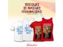 Tricouri si Maieuri Personalizate de la Ideaplaza