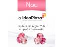 Nou la IdeaPlaza - Bijuterii de Argint cu Cristale Swarovsky