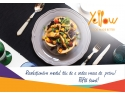 aplicatie food delivery. Conceptul de fast premium food delivery ajunge în România! Comandă cu Yellow.Menu preparate a la carte pentru un prânz de 5 stele
