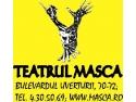 """Masti de Halloween si """"oglinzi"""" in noua casa a Teatrului MASCA"""