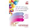 Generali: de 20 de ani în România, de 2 x mai multe beneficii pentru clienţi
