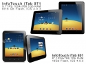 PC Tablet. Tablete PC InfoTouch iTab801, iTab971