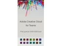 Creative Arts. Abobe Creative Cloud la preț special!