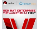 3 Suisses. Lansare Red Hat Enterprise Vituralization 3.0