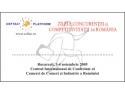 Acreditare la Conferinta de Presa din cadrul ZILELOR CONCURENTEI si COMPETITIVITATII in ROMANIA (3-4 noiembrie 2005)