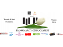 recital pian. Piano Marathon Bucharest