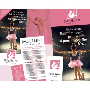 educa. Scoala de balet EDUCA isi schimba numele in JAQUELINE – Scoala de balet si adopta o noua identitate vizuala