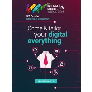 legi internet. Peste 1,800 solutii digitale pentru afaceri la Internet&Mobile World