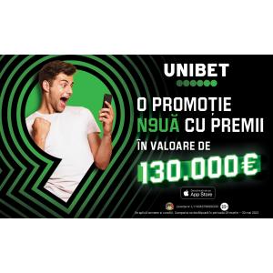 Gadgeturi de top, premii cash și alte beneficii în super campania Unibet aprilie & mai 2021