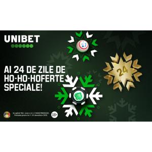 Turnee la sloturi pe Unibet Casino și alte promoții care continuă și după Crăciun