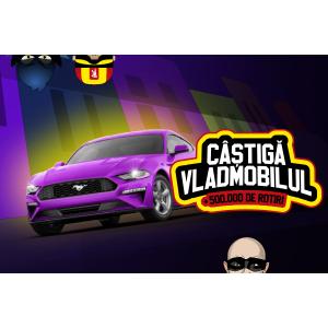 Un automobil Ford Mustang Fastback și 500.000 rotiri pot fi câștigate la sloturi online