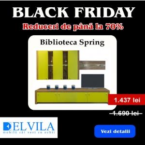 reduceri magazine. Black Friday in magazinele Elvila cu reduceri de pana la 70%