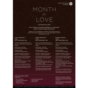 surpize. Oferta Month of Love at Marina Regia Residence