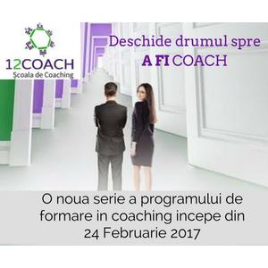 12Coach primește înscrieri pentru noua serie de formare în coaching