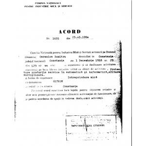 hemilabel. Acord Nr. 1635 din 23.03.1990