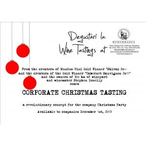 petrecere craciun corporate. Corporate Christmas Tasting – un nou concept pentru petrecerea de Craciun