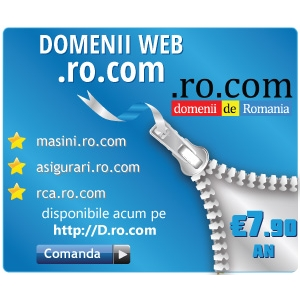 com. .ro.com - Domenii de Romania