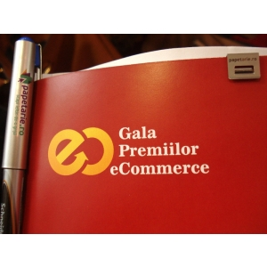 blocnotesuri. Conferintele Nationale de E-Commerce 2012 s-au desfasurat sub sigla Printed by Papetarie.ro