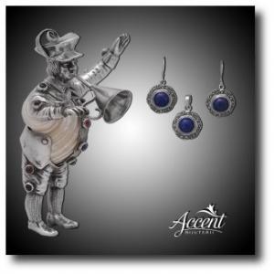 lapis lazuli. bijuterii din argint cu lapis lazuli