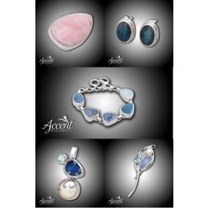 opal. bijuterii din argint cu opal preţios natural la Accent Bijuterii