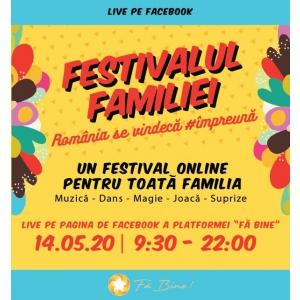Festivalul Familiei Dărâmă Barierele Online-ului!