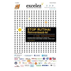 Excelez. Excelez - 14-15 Mai - O expozitie de oferte educationale pentru dezvoltare profesionala si personala