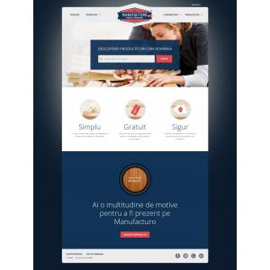 manufacturo. Prima platformă care conectează cumpărătorii de la nivel global cu producătorii din România