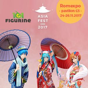 kult fest. 101Jucarii/101Figurine – in calitate de participant si expozant – va invita la Asia Fest!