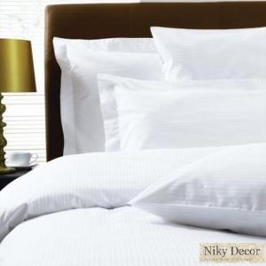 Producator lenjerii de pat damasc pentru hotel - Niky Decor