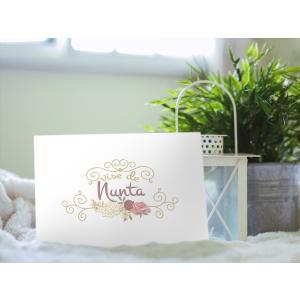 Invitatii de nunta handmade