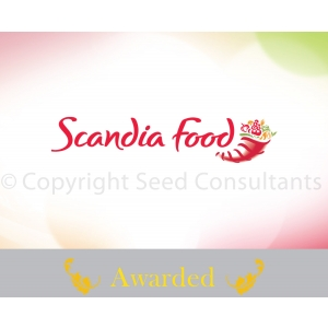 Scandia. Logo Scandia Food