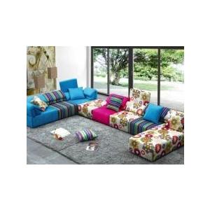 piese modulare. Canapele din piese modulare, un spectacol de culori in casa cu Mob&Deco