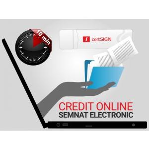 Credite online cu semnatura electronica