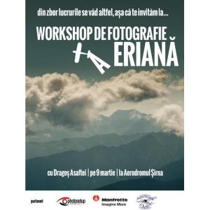 Workshop fotografie aeriana, include zbor cu avionul