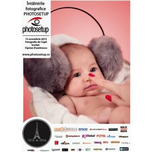 Intalnirile Fotografice Photosetup - Fotografia de Copii