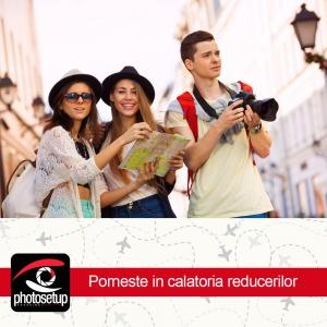 Photosetup lanseaza promotia de vara la aparatele foto si camerele de actiune pentru citybreak-uri reusite