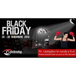 Photosetup organizeaza runda a doua de Black Friday