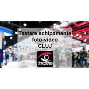 Targ si testare de echipamente foto-video la Cluj