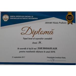 Pozitie onoranta in topul celor mai buni membri CECCAR
